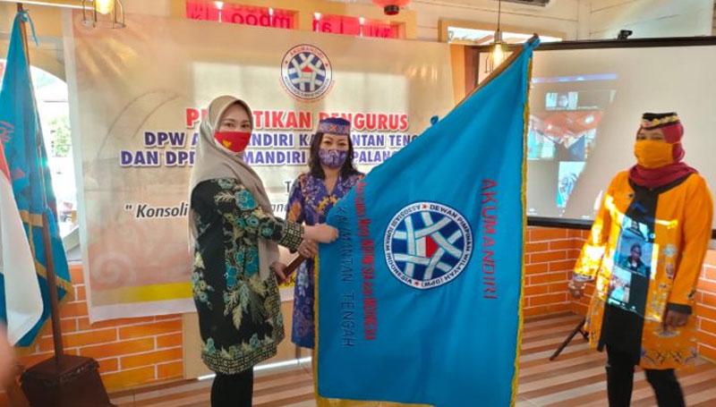 Pelantikan DPW Akumandiri Kalteng dan DPD Kota Palangka Raya
