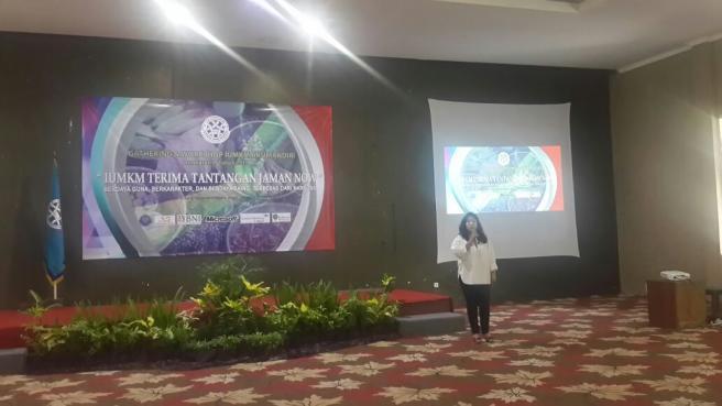 Workshop dan Gathering AKUMANDIRI Jawab Tantangan IUMKM Jaman Now
