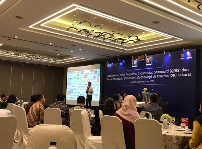 Materi QRIS oleh Bapak Ricky Satria Deputi Direktur Departemen Kebijakan dan Pengawasan Sistem Pembayaran